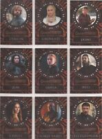 Game of Thrones Valyrian Steel - L1-18 Laser-Cut Chase Card Set