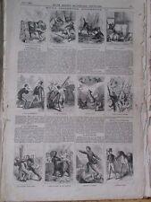 Vintage Print,HOME INCIDENTS,Leslies,June 1867