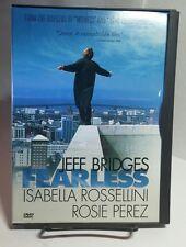 Fearless 1993 (DVD, 1999)Free Shipping - RARE OOP DVD - Jeff Bridges