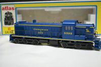 Atlas/Kato HO RSD-4/5 Chesapeake & Ohio  #5592 Diesel Locomotive