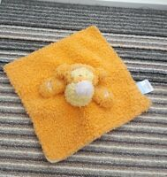 DISNEY BABY ORANGE TIGGER COMFORTER BLANKET BLANKIE DOU SOFT TOY SOOTHER