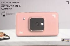 SHARPER IMAGE Instant Print Camera, 2.1