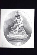 Gratitudine - di Benzoni Incisione del 1851