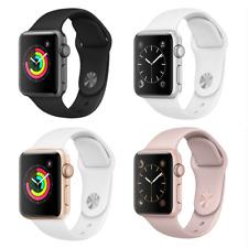 Reloj de Apple serie 2 38mm aluminio caso-Gris Espacio Plata Oro Rosa Sport banda