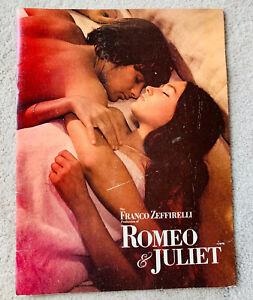 1968 Official Movie Program ~ Franco Zeffirelli's ROMEO & JULIET