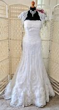 BNWT  BREATHTAKIN! Beautiful trumpet style wedding dress by IAN STEWART. Size 10