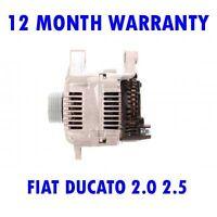 Fiat ducato 2.0 2.5 1994 1995 1996 1997 1998 1999 2000 2001 2002 alternator