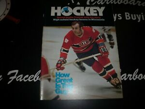 Hockey Magazine Guy Lafleur Cover Canadiens October 1977
