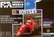 Poster Formula 1 Uk 1990