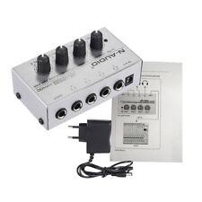 HA400 Amplificatore per cuffie stereo mini a 4 canali ultra compatto