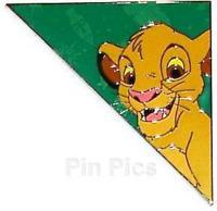 Tangram Puzzle Simba Lion King LE Disney Pin 55698