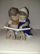 """Bing and Grondahl Denmark figurine """"Children Reading� #1567 Porcelain"""