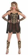 Ladies Warrior Princess Fancy Dress Costume Sexy Roman Centurion 10-12