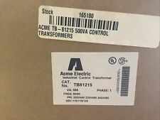 Acme Electric Industrial Control Transformer Tb81215