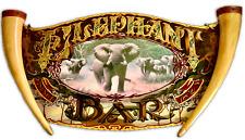 """Elephant Bar """"One of a Kind"""" Glass Art"""