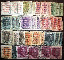 Adj r1_747b, 4 lotes Alfonso 455-465-466 Sociedad Naciones, Spain 1929 bonitos