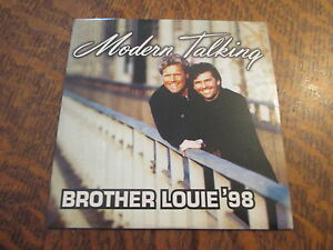 cd MODERN TALKING brother louie '98