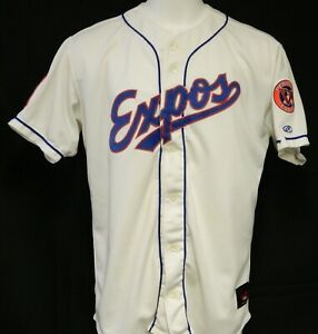 Game Worn Signed Vermont Expos (Expos) Home Jersey #39 - Size 50