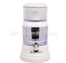 GENUINE ZEN WATER SYSTEMS - 4 GALLON COUNTERTOP WATER FILTER PURIFIER