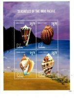 Palau - 2014 - Seashells of the Indo Pacific - Sheet of Four - MNH
