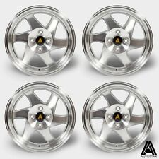 "Autostar Blade 15"" x8"" 4x100 et20 alloys fits Mazda Mx5 Honda Civic Vw Lupo Polo"