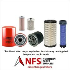 Takeuchi TB108 Filter Service Kit (Oil, Fuel, Air, Hydraulic Filters)