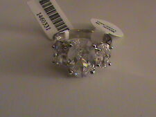 Simulated Diamond Ring in Sterling Silver Size 7.5