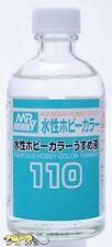 Aqueous hobby color thinner 110ml-Mr. hobby/Gunze t110 - 45,00 euros/1l