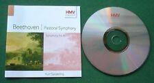 Beethoven Pastoral Symphony No 6 & Symphony No 8 Sanderling CD