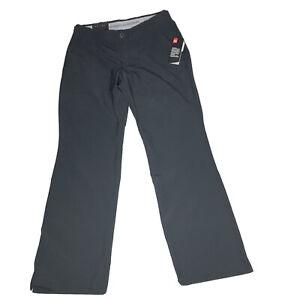 Under Armour Men's Golf Loose Pants Straight Black Lightweight Size 34 x 32