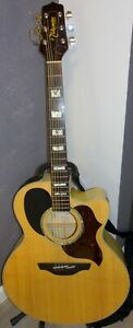 Takamine EG523SC 6-String Acoustic/Electric Guitar. Excellent