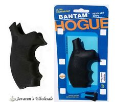 Hogue Fits Smith & Wesson K / L Revolver Round Butt Rubber Bantam Grip S&W FAST