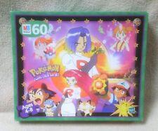POKEMON Gotta catch 'em all! 60-piece Jigsaw Puzzle 1999 MB Hasbro Nintendo VGC