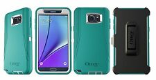 OtterBox Defender Series Case for Samsung Galaxy Note 5 Light Teal + White