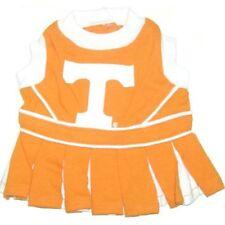 TENNESSEE Orange or AUBURN Blue Dog Pet Cheerleader Dress XS, S or M YOU PICK