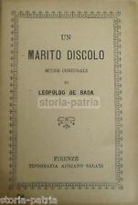 TEATRO POPOLARE_MUSICA_LIVORNO_SCENE CONIUGALI_COMMEDIA DI DE RADA_NUVOLOSI_1918