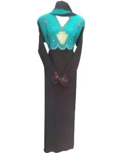 Reduced: Abaya Borka Muslim Women islamic MODERN STYLISH wear Ladies long sleeve