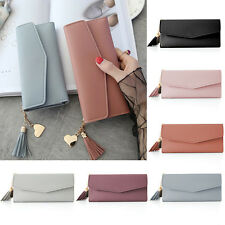 Fashion Lady Women Leather Clutch Wallet Long Card Holder Case Purse Handbag NEW