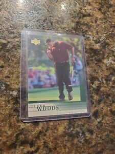 2001 Tiger Woods Upper Deck Rookie RC #1