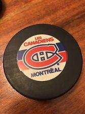 Rare Vintage Montreal Canadiens Viceroy – InGlasCo Game Puck w NHL Logo (KC)