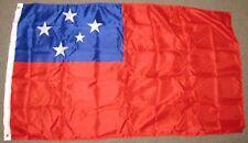 Western Samoa Flag 3X5 Feet Banner Sign South Pacific Samoan 3'X5' New F624