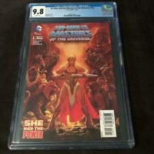DC Comics HE MAN AND THE MASTERS OF THE UNIVERSE #18 CGC 9.8 FIRST MODERN SHE-RA