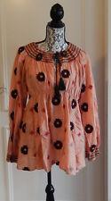 Odd Molly Bluse Tunica Baumwolle Seide Blumen 4 blouse tunic cotton silk flowers