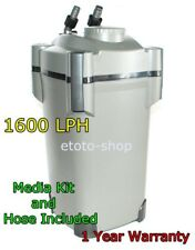 EXTERNAL CANISTER FILTER RESUN EF1600 AQUARIUM FISH TANK