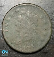 1808 Classic Head Large Cent --  MAKE US AN OFFER!  #B6332