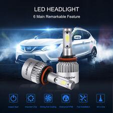 2X H11/H8/H9 LED 100W 20000LM Auto Scheinwerfer Kit 6000K Car Lampen Birnen weiß