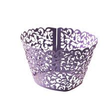 50pcs Lace Flower Cake Cupcake Liner Case Wrapper Wedding Baking Decorating Box