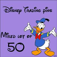 ..Disney Trade Pins mixed lot of 50 pins.