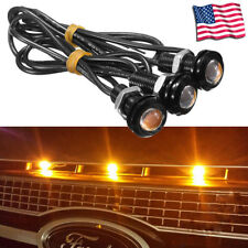 3pc Ford SVT Raptor Style LED Amber Grille Lighting Kit, Universal Fit Truck SUV