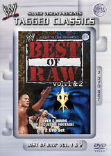 WWE The Best Of Monday Night RAW Vol. 1 & 2 2x DVD